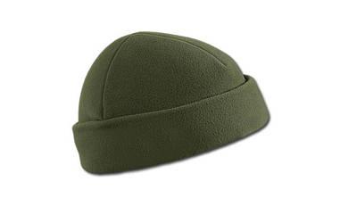 Шапка флисовая (под шлём) Helikon Watch Cap Olive Green (CZ-DOK-FL-02)