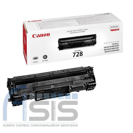Заправка картриджа Canon 728 для принтера Canon i-SENSYS MF4410, MF4430, MF4450, MF4550, MF4570, MF4580, MF473, фото 2