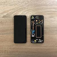 Дисплей Samsung S9 Plus G965 Серый Gray GH97-21691C  оригинал!
