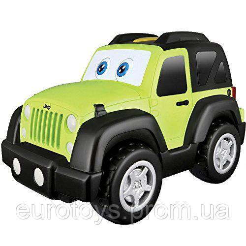 BB Junior Игровая автомодель Jeep Wrangler (звук, глаза и движение)