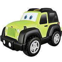 BB Junior Игровая автомодель Jeep Wrangler (звук, глаза и движение), фото 1