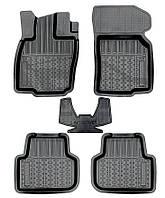 Коврики автомобильные для Audi A-3 2013- г., резиновые с бортами