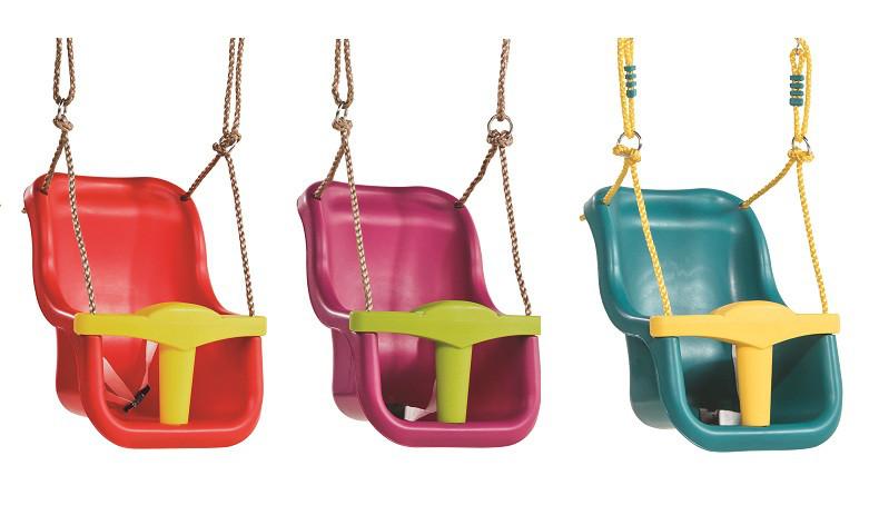 Детские подвесные качели KBT Люкс с защитным ремнем