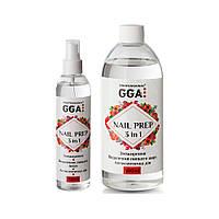 Жидкость Nail Prep 3 в 1 GGA Professional Объём: 500 мл