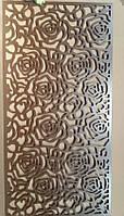 """Интерьерная перегородка """"Розы"""", декоративные панели, интерьерная ширма, экраны для дома, фото 1"""