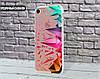 Силиконовый чехол для Apple Iphone 7 (Разноцветная абстракция)