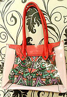 Красная сумка 2 в 1, фото 1