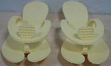 Тапочки одноразовые Panni Mlada (1 пара/пач) вспененный полиэтилен, Цвет белый