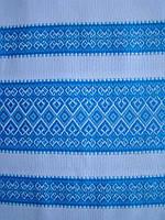 Ткань с вышивкой для скатерти Лилея ТДК-97 1/9, столовый текстиль,ткань с орнаментом,декоративная