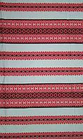Ткань с вышивкой для скатерти Лилея ТДК-97 2/1, столовый текстиль,ткань с орнаментом,декоративная