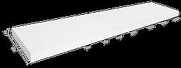Столешница каменная Solid surface 900*480*20mm, цвет коричневый
