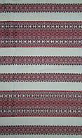 Ткань с вышивкой для скатерти Лилея ТДК-97 2/5, столовый текстиль,ткань с орнаментом,декоративная