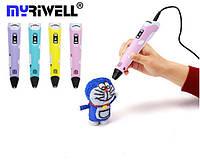 3Д Ручка Myriwell RP-100B с LCD ДИСПЛЕЕМ - Новая возможность воплощения творческих идей! Оригинал!, фото 1