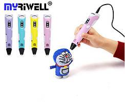 3Д Ручка Myriwell RP-100B с LCD ДИСПЛЕЕМ - Новая возможность воплощения творческих идей! Оригинал!