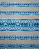 Ткань с вышивкой для скатерти Лилея ТДК-97 2/10, столовый текстиль,ткань с орнаментом,декоративная