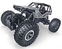 Автомобиль OFF-ROAD CRAWLER на р/у ROCK серебристый, метал. корпус, 1:18 Sulong Toys (SL-111S), фото 1