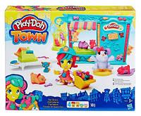 Зоомагазин - набор с пластилином Play-Doh Town