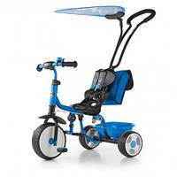 Велосипед 3х кол. M.Mally Boby Deluxe 2015 с подножкой blue