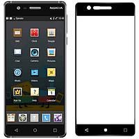 Защитное стекло на весь экран Nokia 3 (изогнутое) (Нокиа 3)