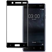Защитное стекло на весь экран Nokia 5 (изогнутое) (Нокиа 5)