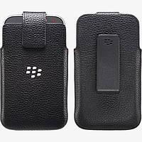 Чехол BlackBerry Classic Q20 кармашек кожаный, фото 1