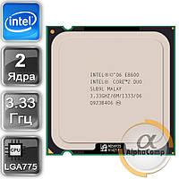 Процессор Intel Core2Duo E8600 (2×3.33GHz/6Mb/s775) БУ