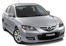 Декоративные наклейки на торпеду Mazda 3 2004-2008