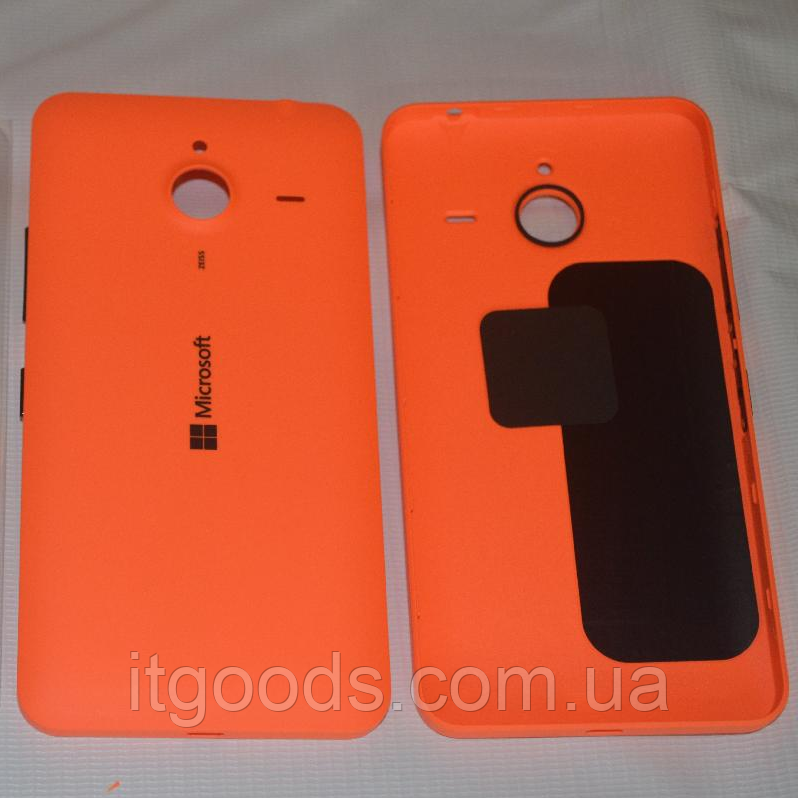 Задняя оранжевая крышка для Microsoft Lumia 640 XL