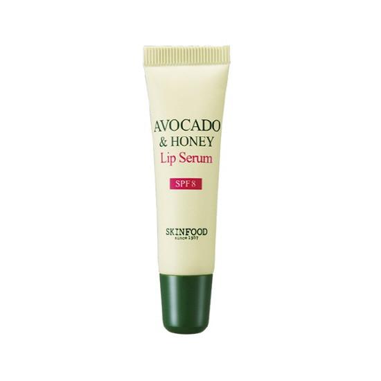 SKINFOOD Сыворотка для губ с маслом авокадо и медом Avocado & Honey Lip Serum SPF8 10ml