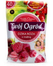 Чай Twoi Ogrod Dzika Roza i malina 40 пакетов
