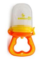 Силиконовый ниблер оранж для первого прикорма