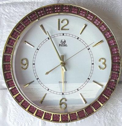 Настенные часы с кварцевым механизмом Pearl PW179