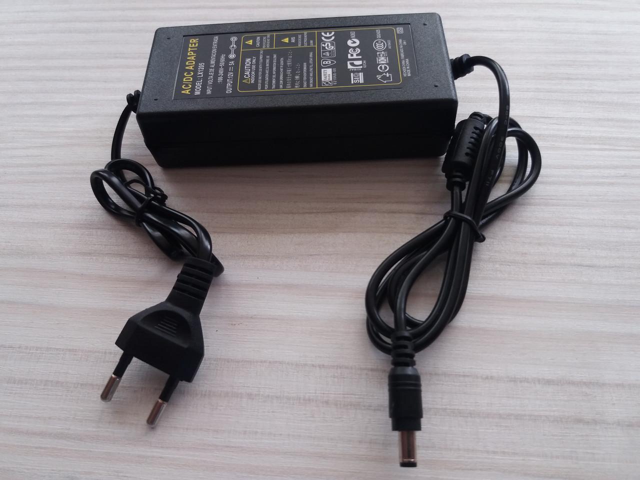 Блок Питания 36W 12V IP44 пластик черный 3А