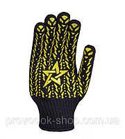 Распаковка и обзор рабочих строительных перчаток трикотажных Doloni 4080
