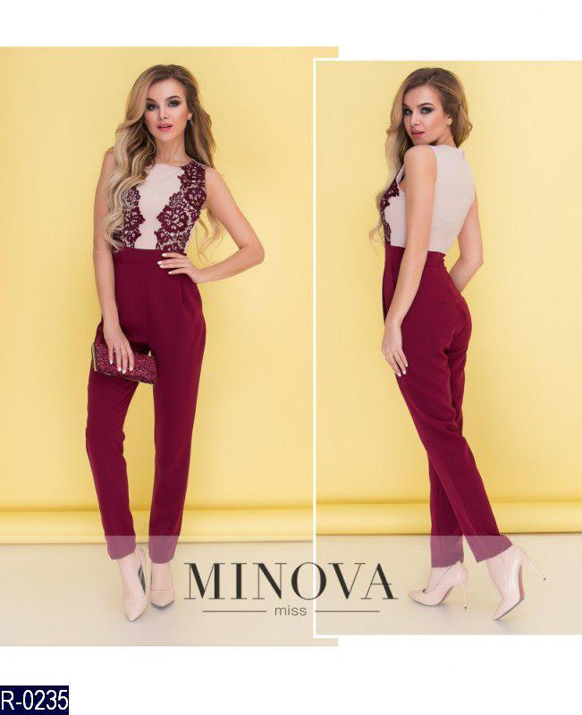 99e646d3ac72 Красивый нарядный женский комбинезон с брюками - купить по лучшей ...
