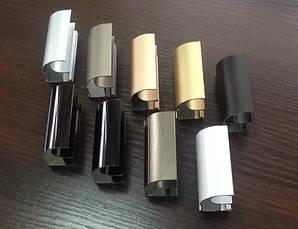 Конструктор для раздвижных систем шкофов купе из алюминиевого профиля (3х дверный), фото 3