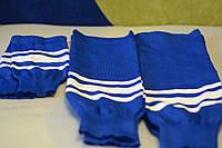 Гамаши хоккейные Junior цвет Синий