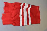 Гамаши хоккейные Junior цвет Красный