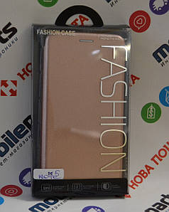 Чехол -Книжка Fashion Case для Meizu M5 Note (Золотой)
