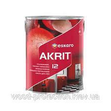 Фарба для стін і стель Eskaro Akrit 12 (напівматова) 2.85 л