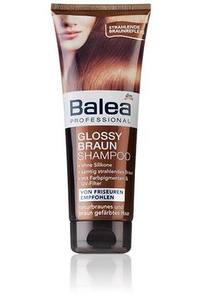 Шампунь Balea Professional Shampoo Glossy Braun для шатенок 250 мл, фото 2