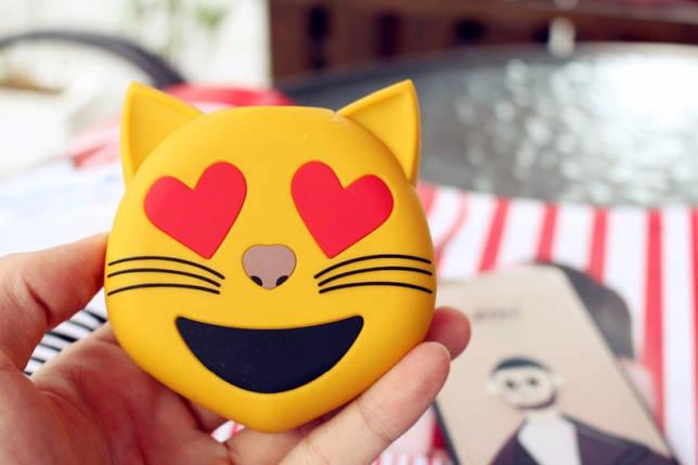 Универсальная портативная батарея Power Bank emoji Котик, фото 2