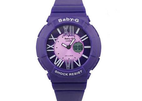 Копия детских спортивных часов Casio Baby-G BGA-160 Blue, фото 2