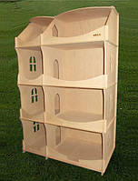 Кукольный домик-шкаф