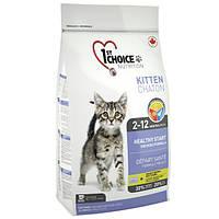 1st Choice Kitten 907 гр ФЕСТ ЧОЙС КОТЕНОК сухой супер премиум корм для котят, беременных и кормящих кошек