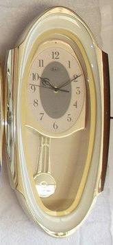 Настенные кварцевые часы с маятником R&L RL-M50