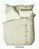 Комплект постельного белья FIRST CHOICE, ARTEMIS FUME евро Coton Satin