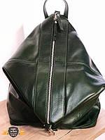 VEZZE Рюкзак женский из натуральной кожи, Италия