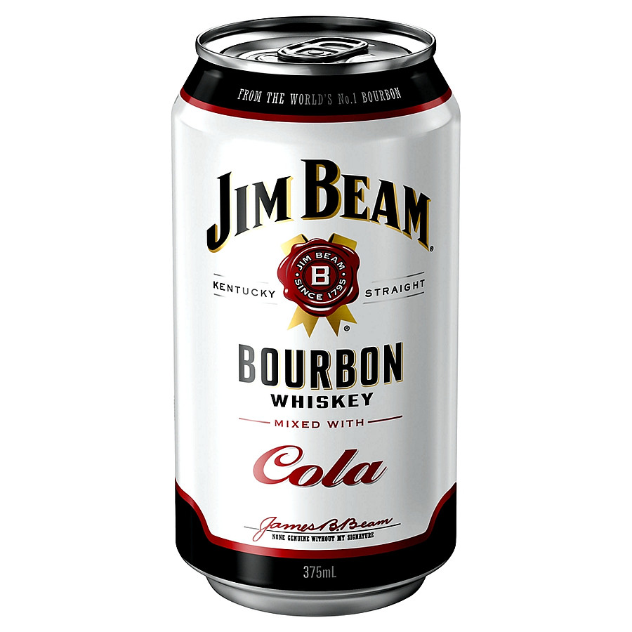 Виски Jim Beam & Cola 330 мл виски с колой в банке