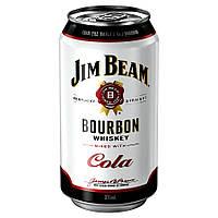 Виски Jim Beam & Cola 330 мл виски с колой в банке, фото 1